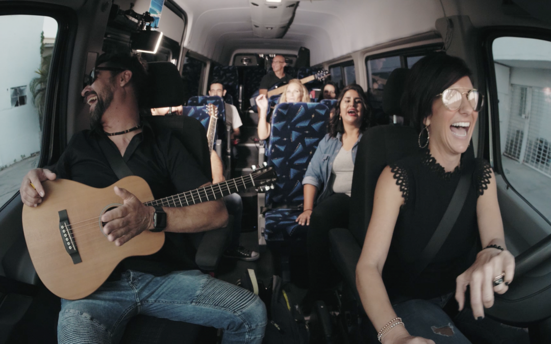 Carpool Karaoke with Bliss Events and Kilometro Band